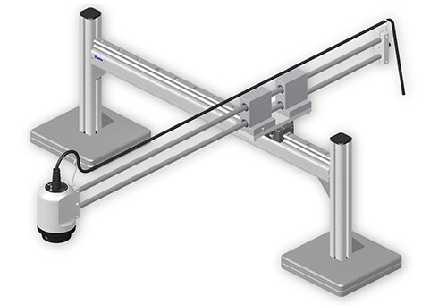 OP-006-341,-Bench-top-XY-stand,-extra-long