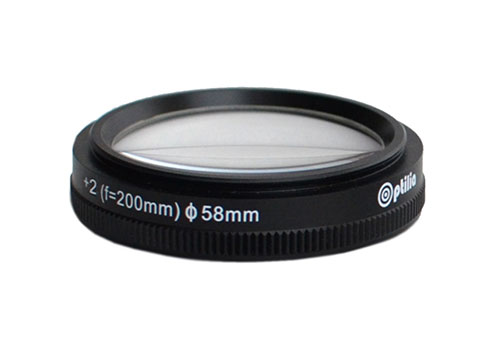 OP-009-304,-Close-up-lens-+2-diopter-(f=500mm)