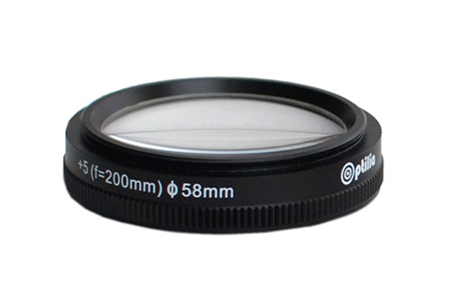 OP-009-305,-Close-up-lens-+5-diopter-(f=200mm)