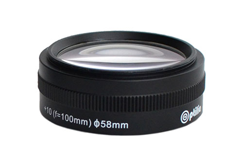 OP-009-308,-Close-up-lens-+10-diopter-(f=100mm)