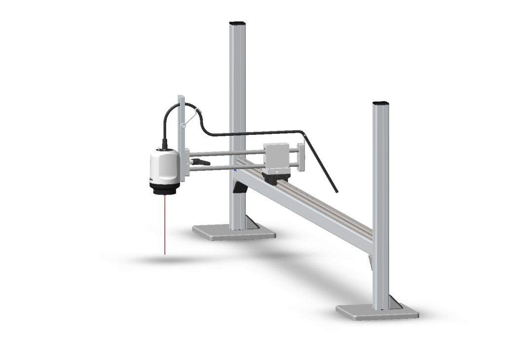W30x with Bench-top XY stand and Height-adjustment-bracket-2